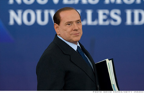 Italy's prime minister, Silvio Berlusconi, has come under heavy criticism for policies aimed at getting the country out from under its heavy debt load.