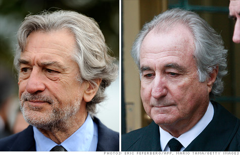 Robert DeNiro is slated to portray Bernie Madoff in an upcoming HBO film.