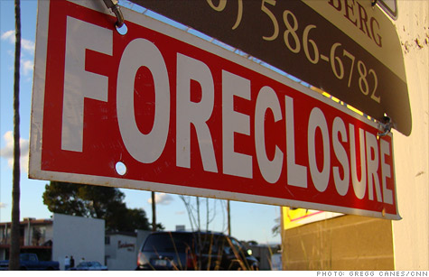Real estate foreclosures up in October