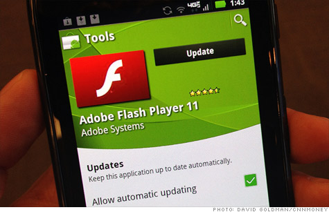 Adobe will no longer develop its mobile Flash app, though it will continue to support it for Android users.