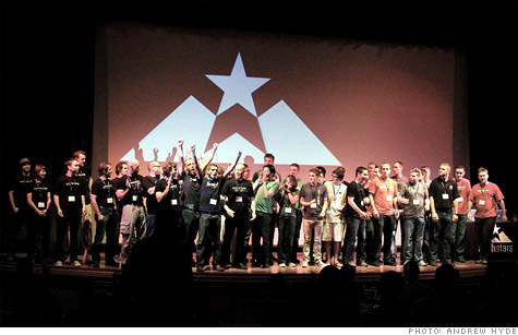 TechStars' recent graduating class reflected tech accelerators typical demographics: Mostly young, mostly white and mostly male.