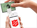 Salvation Army's red kettles team up with Square