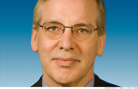 William Dudley, president and CEO of the Federal Reserve Bank of New York.