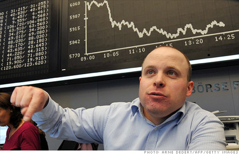 Worries about a deepening eurozone crisis is pressuring bonds and world markets.