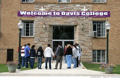 Davis College, a christian school, cut tuition by up to 22% for the current school year.