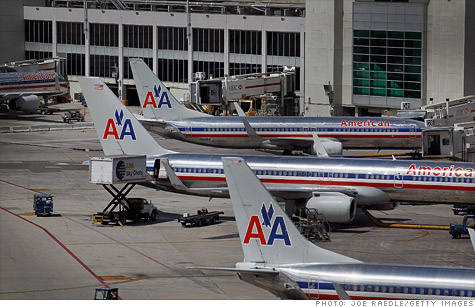 American Airlines filed for bankrutpcy protection Tuesday morning.