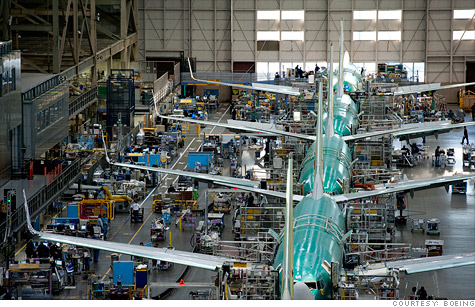 Boeing announced Wednesday it will continue to build the next generation of the 737 jet at this union-represented plant in Renton, Wash.