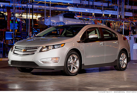 General Motors now says it will not be able to sell 10,000 Chevrolet Volts by the end of this year.