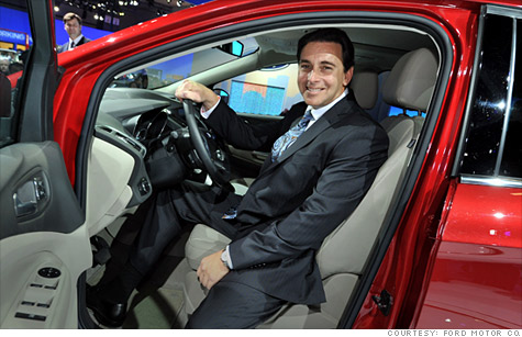 Mark Fields of Ford