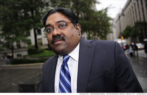 Convicted white-collar crook Raj Rajaratnam on Thursday lost his bid to remain free pending an appeal of his case.