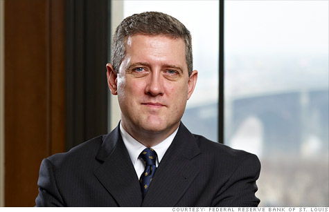 St. Louis Federal President James Bullard has constantly warned investors to not expect another round of bond purchases, or a so-called QE3, just yet.