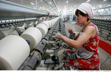 The Chinese manufacturing industry slowed down in November, slipping into negative territory.