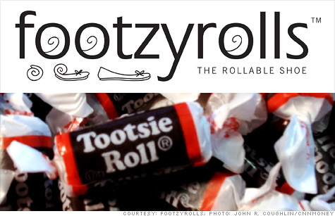 Candy conglomerate Tootsie Roll recently hit Footzyrolls, a shoe startup, with a trademark infringement lawsuit.