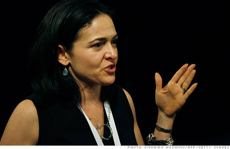 Facebook COO Sheryl Sandberg says Mark Zuckerberg has