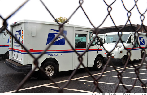 U.S. Postal Service is considering axing next day mail delivery.