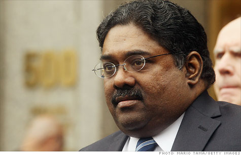 Former hedge fund manager Raj Rajaratnam arrived at a federal prison in Massachusetts to begin serving 11 years for insider trading.