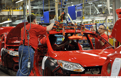 Auto jobs boom coming to Midwest, new report says.