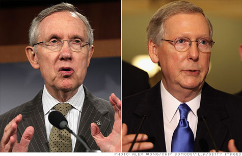 In the Senate, Democratic leader Harry Reid and Republican Mitch McConnell have put forth