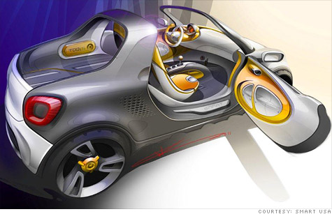 Smart car maker to unveil pickup truck  Dec 7 2011