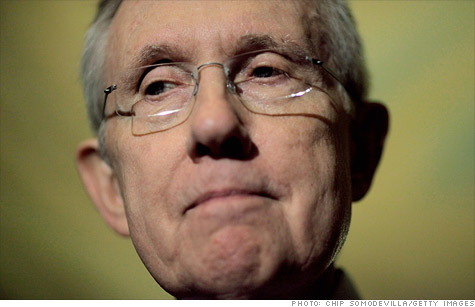 Senate Democrats, led by Harry Reid, are expected to drop their push for the tax.
