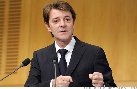 French Finance Minister Francois Baroin, seen here at a conference in November, has said repeatedly that his nation will maintain its AAA credit rating.