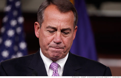 House Speaker John Boehner said he will push for final approval of a two-month payroll tax cut extension before Christmas.