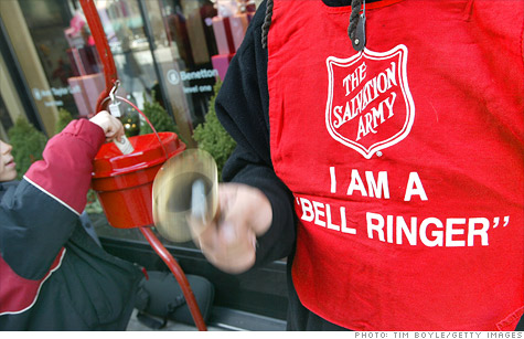 Every year the Salvation Army collects donations, and every year gold coins, diamonds and even gold teeth from anonymous donors end up in the ubiquitous red kettles.