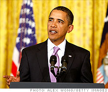 President Obama announces new funding for clean technology jobs.