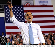 Barack Obama talks about health care reform in Maine. 