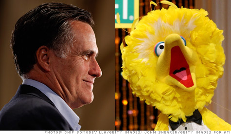 Romney: No more money for Big Bird
