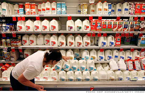 Milk futures rose 36% in 2011, far steeper than the 9.8% rise in milk prices that U.S. consumers paid.