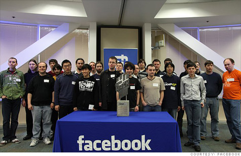 Facebook's first Hacker Cup, held in March, drew 25 finalists from 10 countries.