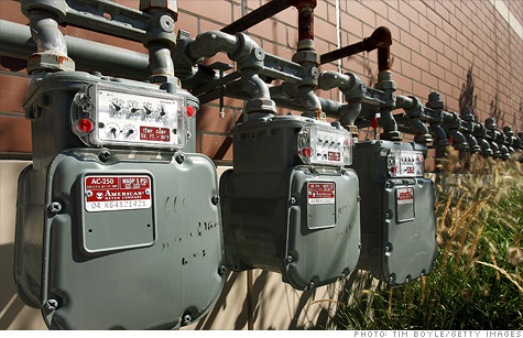 Natural gas prices tumble on big supply, slow demand