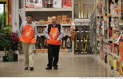 Home Depot intends to hire 70,000 seasonal workers for its busy spring selling season this year.