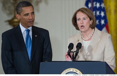 President Obama elevated the Small Business Administration, led by Karen Mills, to a cabinet-level agency.