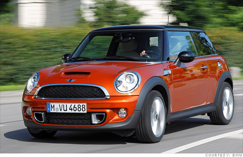 The recall involves turbocharged  2007 through 2011 Mini cars and SUVs, including the Mini Cooper S.