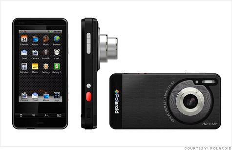 Polaroid SC1630 Smart Camera features a 3.2-inch touchscreen and the full Android app market.