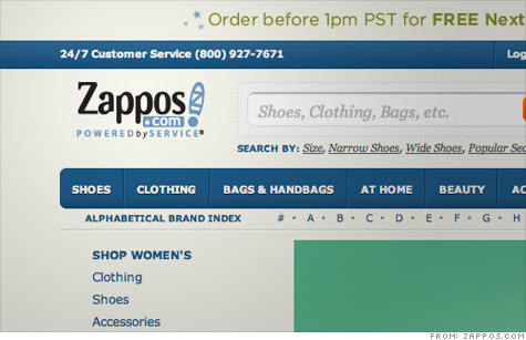 Zappos hack exposes 24 million customer accounts to cyberattackers, but credit cards were not stolen.