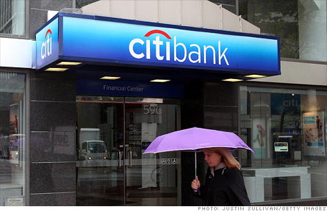 Citigroup's fourth-quarter profit and revenue missed analysts' forecasts.