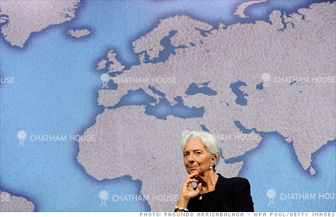IMF managing director Christine Lagarde has requested an increase in the fund's resources as global financing needs are expected to reach $1 trillion over the next few years.