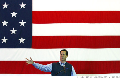 Rick Santorum's tax plan.