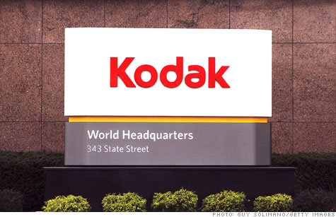 Eastman Kodak filed for Chapter 11 bankruptcy protection.