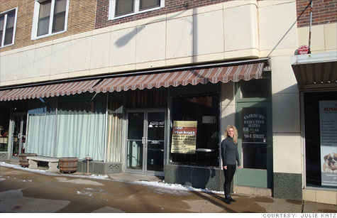Julie Katz, a hotel owner in Fairbury, Neb., says her business will suffer now that the Obama administration has rejected a proposed expansion of the Keystone XL pipeline.