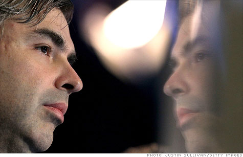 Larry Page is wrapping up his first full year as Google's CEO.