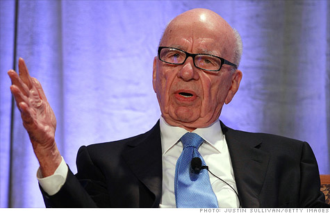 Rupert Murdoch is not a fan of carried interest.