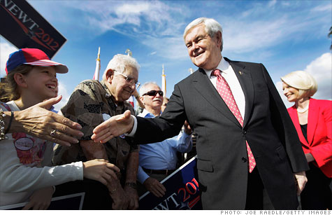 Newt Gingrich's consulting firm worked for Freddie Mac in 2006 and paid $25,000 a month, according to a document released Monday.
