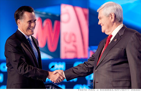 Romney v. Gingrich on the economy