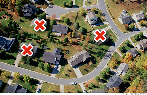 Foreclosures: America's hardest hit neighborhoods