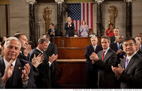 If past speeches are any indication, the economy will be mentioned early and often in Obama's State of the Union address.