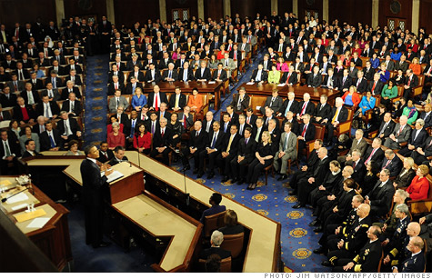 Obama focuses State of the Union on income inequality.